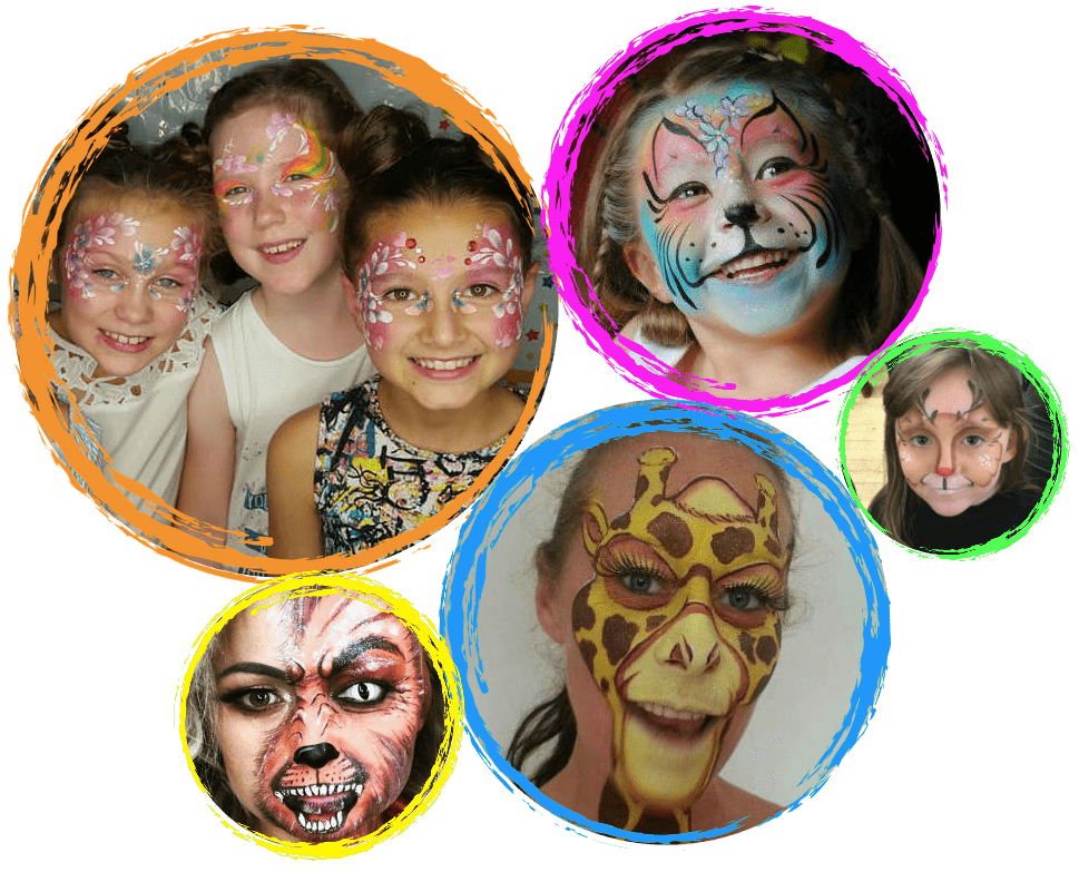 face painting fcharity events